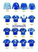 Everton shirts print